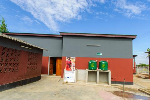 Construction work completed at Georges Health Centre in Lusaka