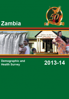 Zambia DHS cover page