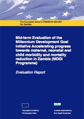 Cover page MDGi mid-term report