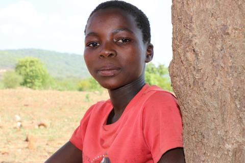 Natasha Moyo (11) who attends School at Chomubhobho Primary in Mberengwa, Midlands province, was determined to learn more about cholera and how to prevent it.